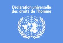 Photo de Déclaration universelle des droits de l'homme