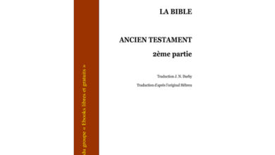 Photo de La bible – Ancien testament – Partie 2
