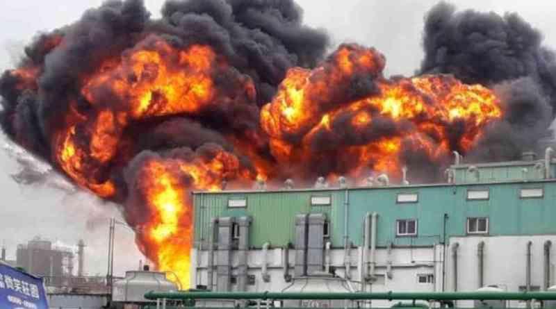 Explosion usine hydroxychloroquine