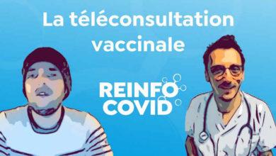 Photo de La téléconsultation vaccinale d'Albert et son médecin